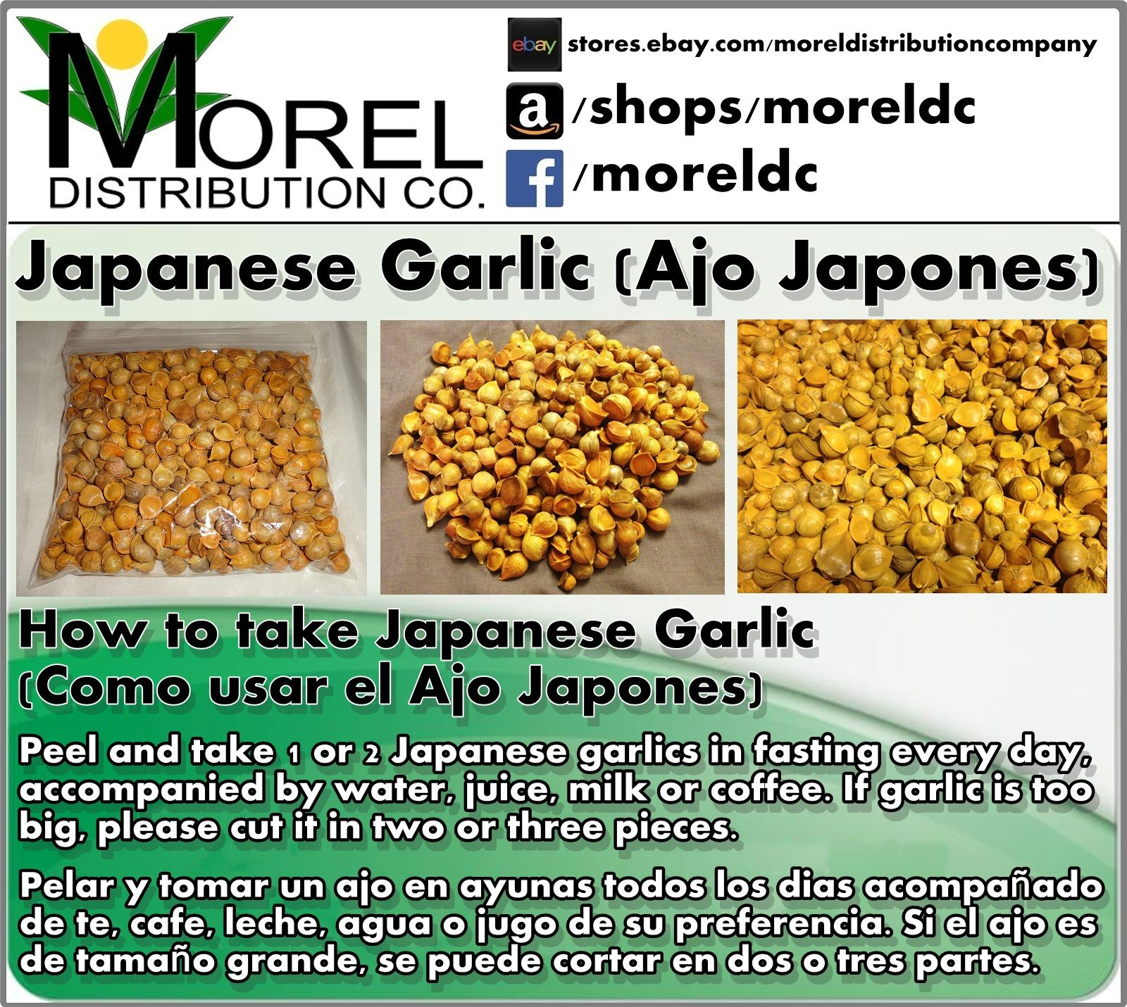 directions on how to take japanese garlic. #japanesegarlic