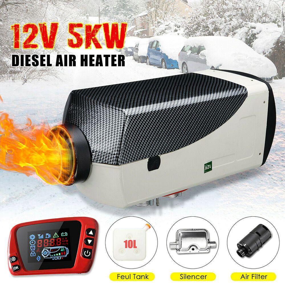 (Sponsored eBay) 5KW 12V Diesel Air Heater New LCD