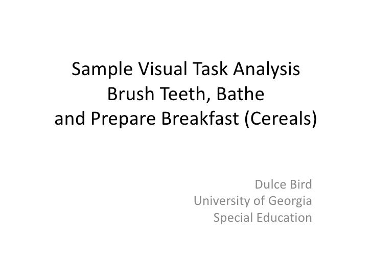 task analysis for shower special ed pinterest special