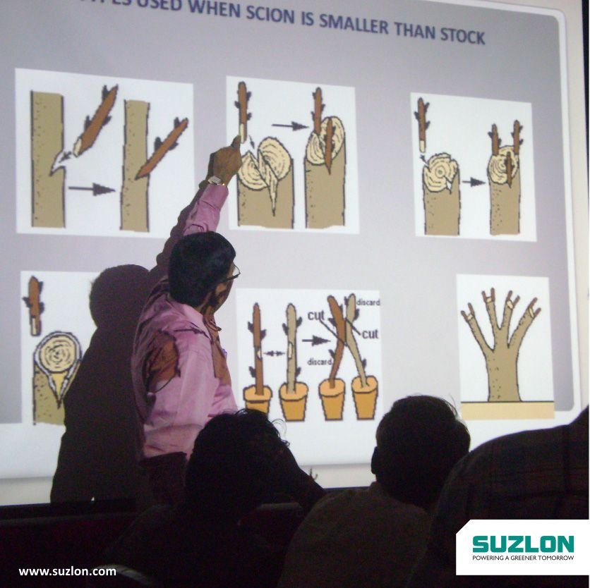 Suzlon promotes screening of an educational documentary on environment to enhance awareness on protecting our plants.