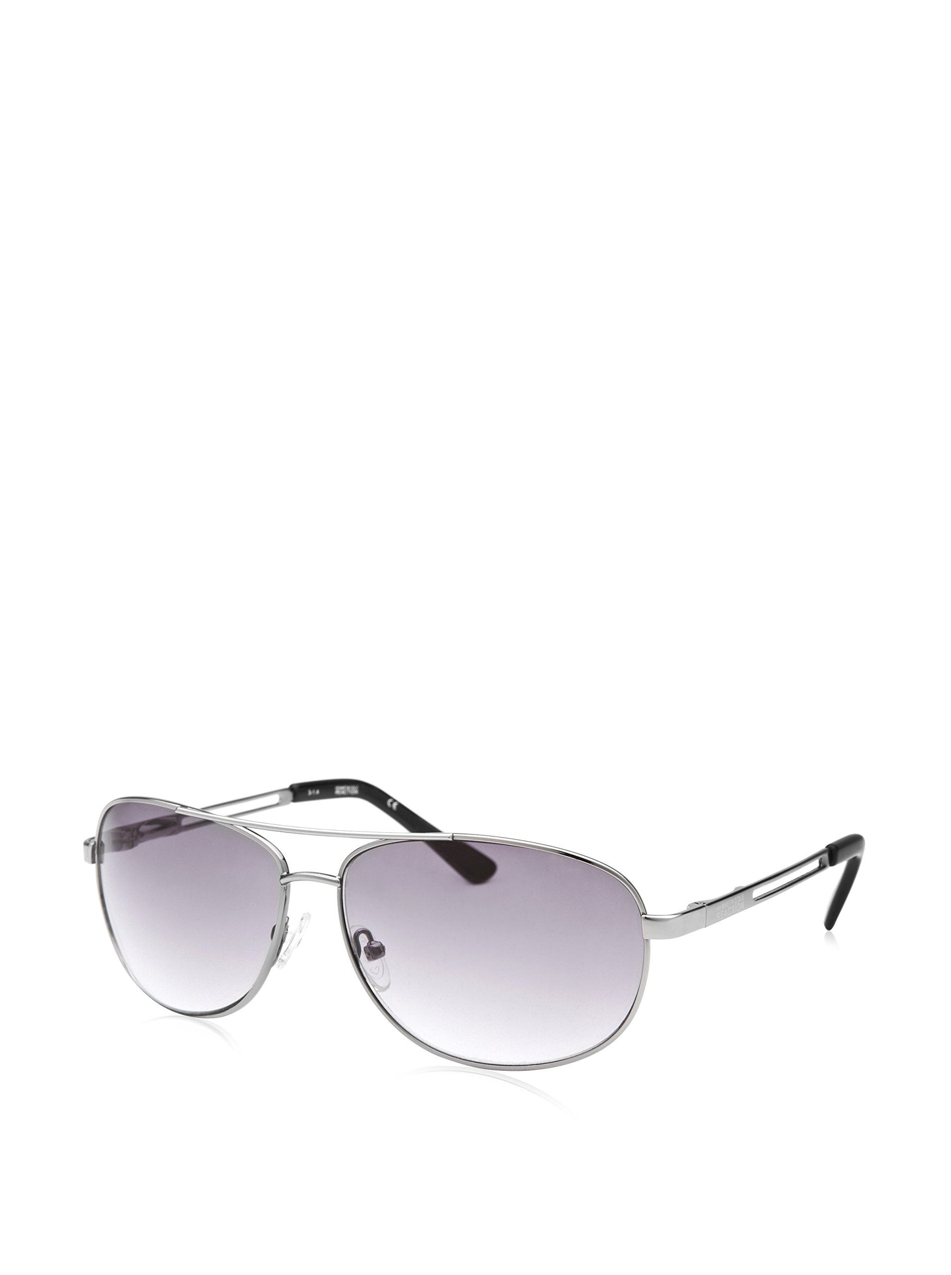 550021bf0ff awesome Kenneth Cole Reaction Men's Sunglasses KCR1069-O753,  Silver-Tone/Grey Gradient