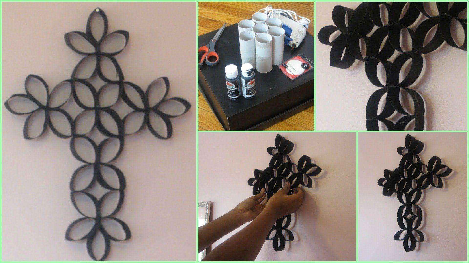 Diy 3d paper roll flower wall art fab art diy pinterest cross diy 3d paper roll flower art4 fabartdiy mightylinksfo