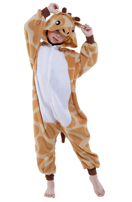 b17d7273 Wapaaw Children Animal Onesies Costume Pajamas Kids Boys Girls ...