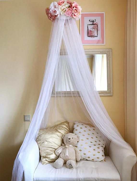 Newborn Canopy Photo Prop Baby mobile Bed canopy Crib canopy Bed canopy for girls Cot canopy Nursery decor Floral mobile Newborn & Newborn Canopy Photo Prop Baby mobile Bed canopy Crib canopy ...