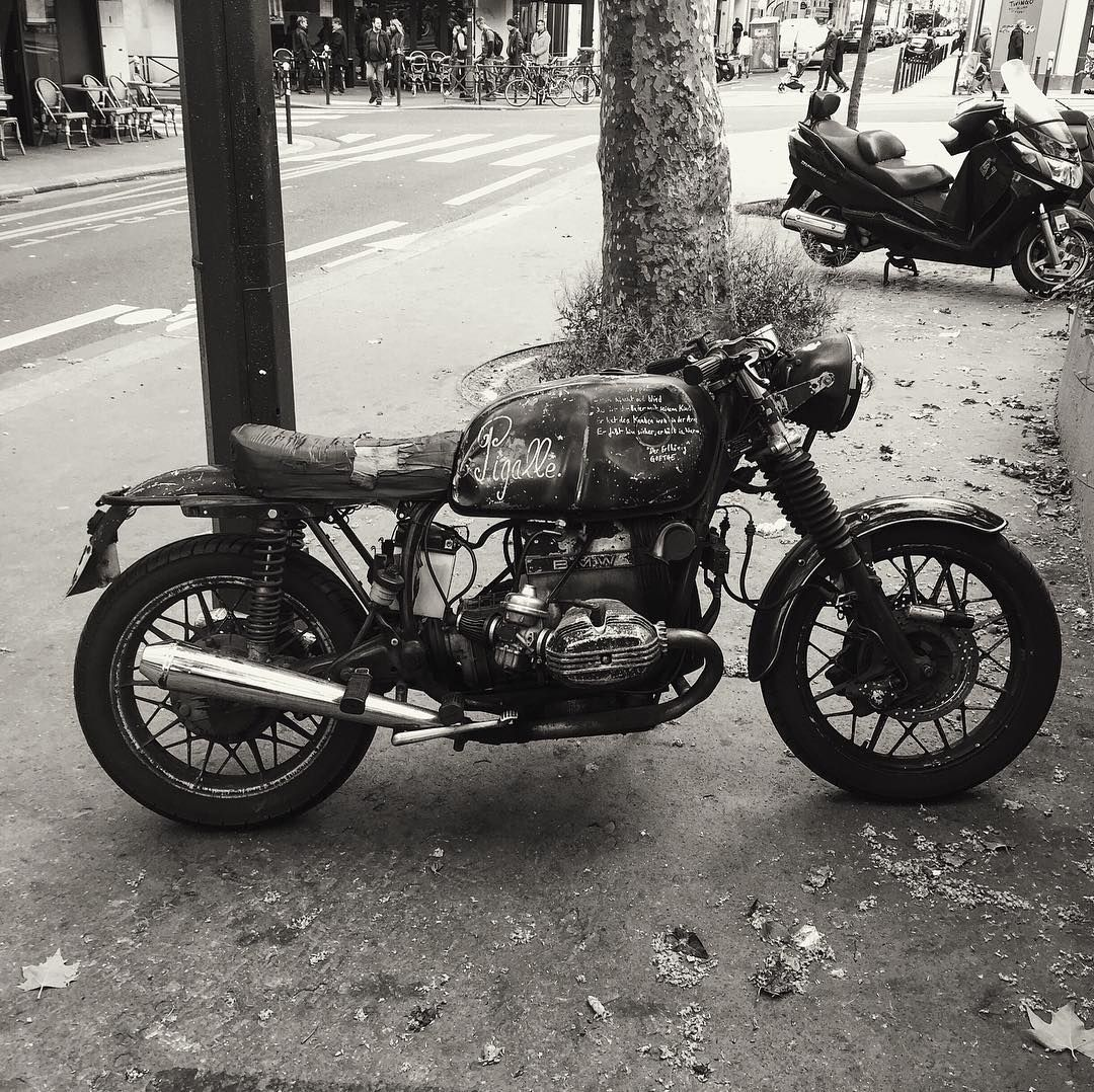 Bmwparison: #BMW R60 #caferacer On The Streets Of Paris Discover