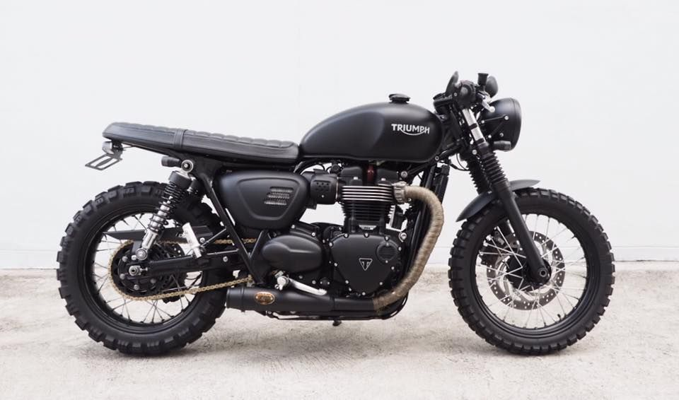 Triumph Street Twin With Zard Exhaust Moto Triumph Motorcycles