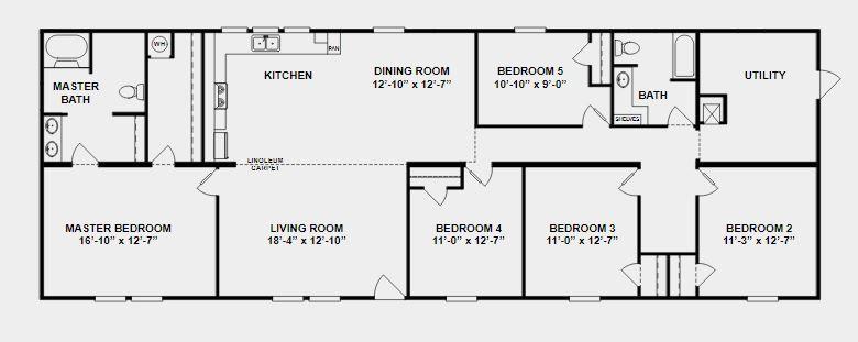 clayton studio in 2020  mobile home floor plans