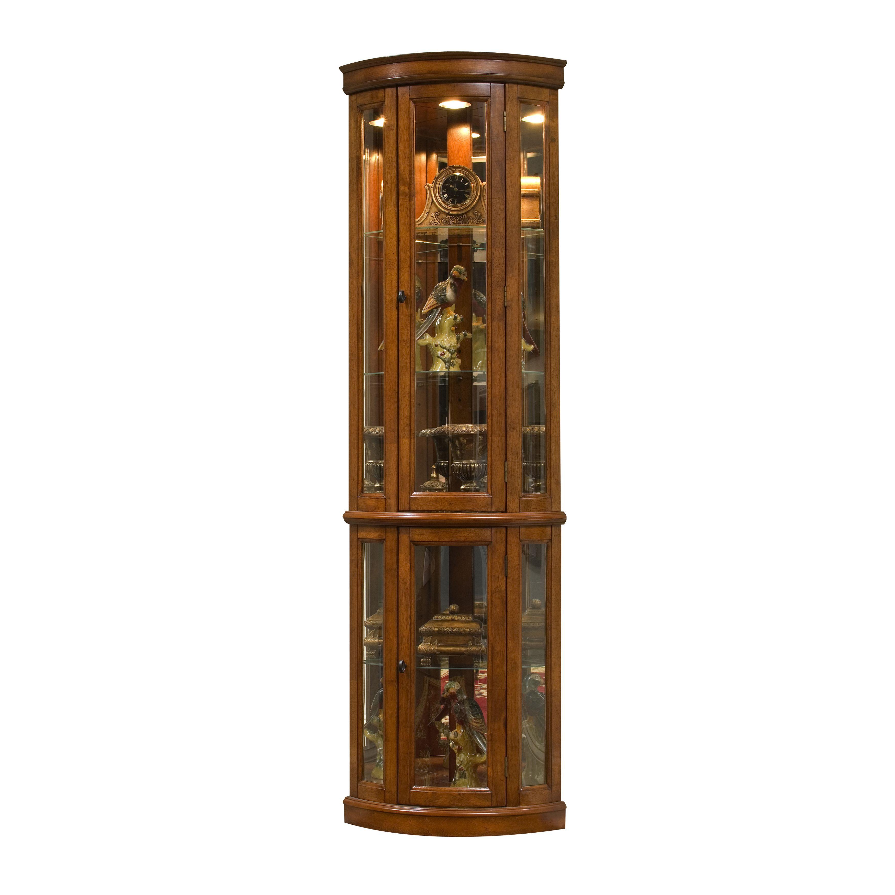 Corner Curio Cabinet | Home improvement | Pinterest | Corner ...