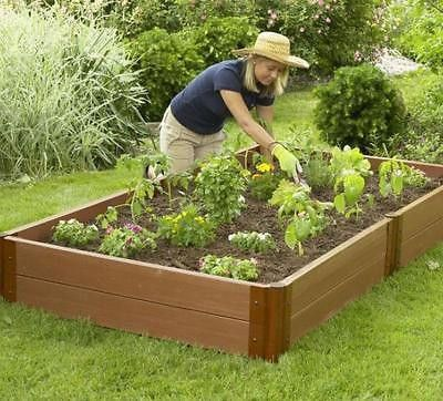 Genial Composite Raised Garden Beds Are An Alternative To Raised Beds Made From  Wood. All Season Durable, Warp Resistant And Maintenance Free, Our X Raised  Garden ...