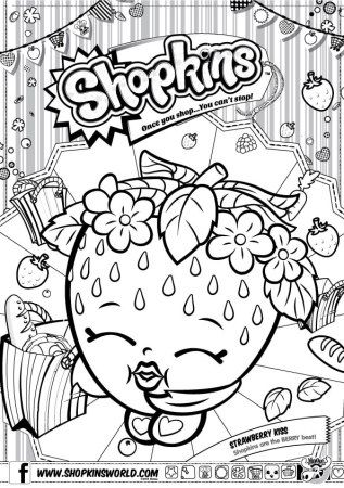 Made By A Princess Shopkins Free Downloads Coloring Pages