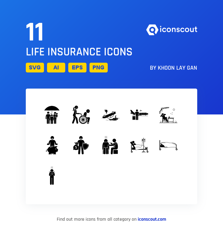 Download Life Insurance Icon Pack Available In Svg Png Eps Ai Icon Fonts Icon Pack Icon Glyph Icon