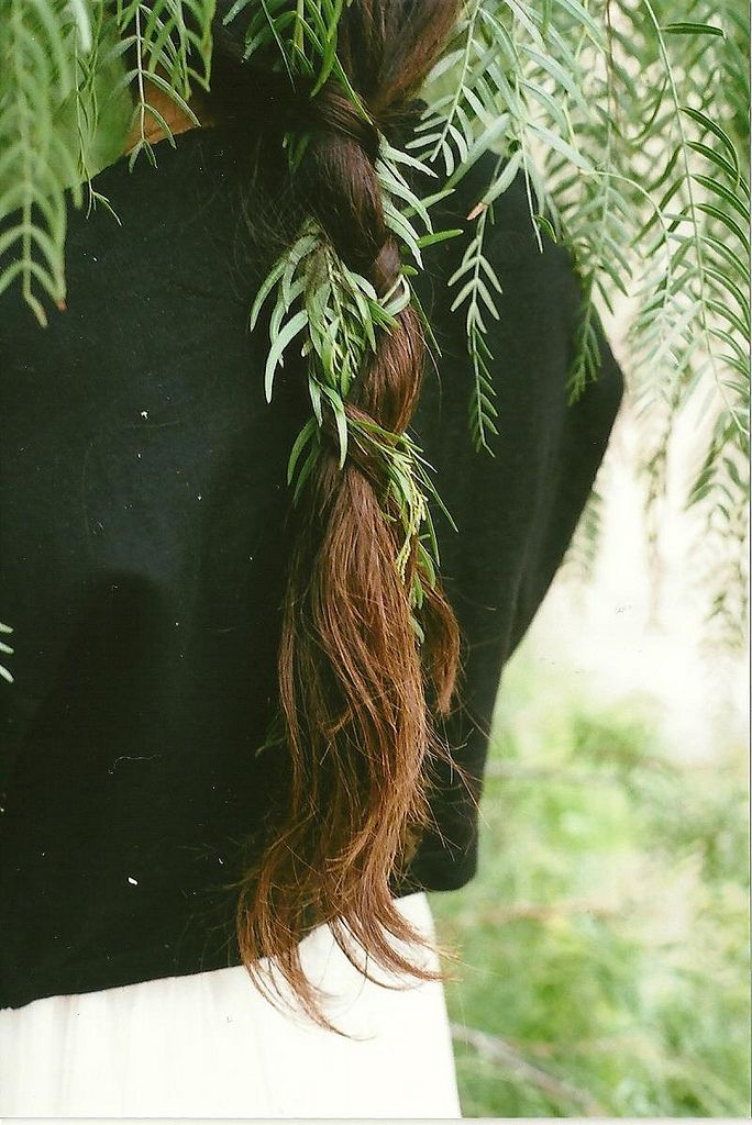 so good so good weave yourself back into nature! Green
