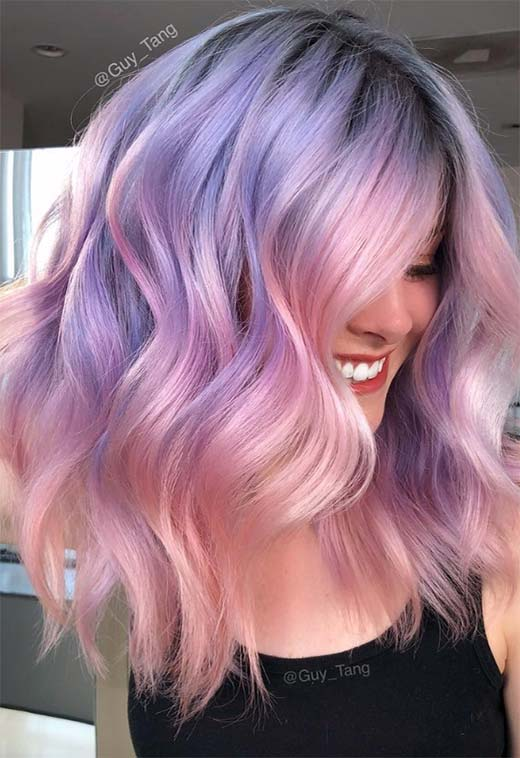 Mother-of-Pearl Hair Trend: 53 Iridescent Pearl Ha
