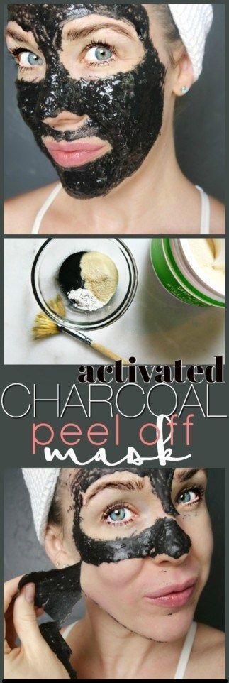 Photo of DIY Charcoal Peel Off Mask #CharcoalMaskPeel #TumericFaceMaskRecipes #Exfoliatin…