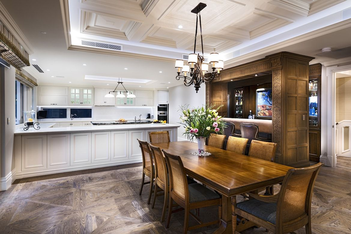 Hamptons In Perth   Traditional   Dining Room   Perth   D Max Photography.  Might Be The Best Compromise.