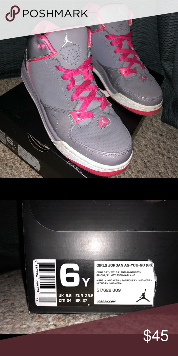 new style 06c71 35b40 Jordan Shoes | Size 6 Youth Girls Jordan (As-You-Go) | Color ...