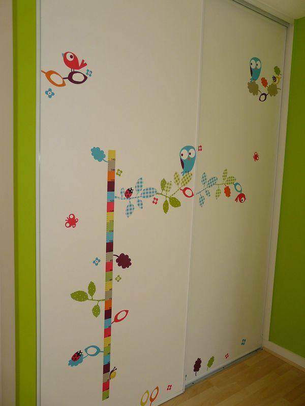 une toise en stickers toise pinterest toise salle. Black Bedroom Furniture Sets. Home Design Ideas