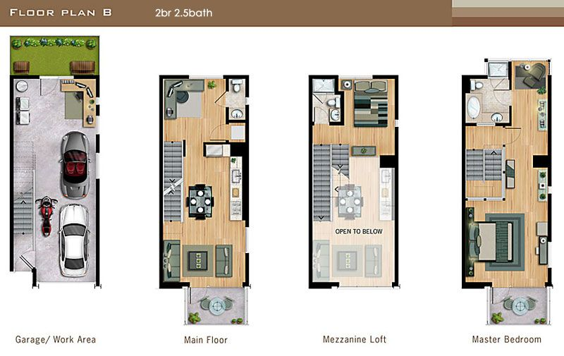 LA Live Work Lofts Universal Lofts Floor Plans This is close to