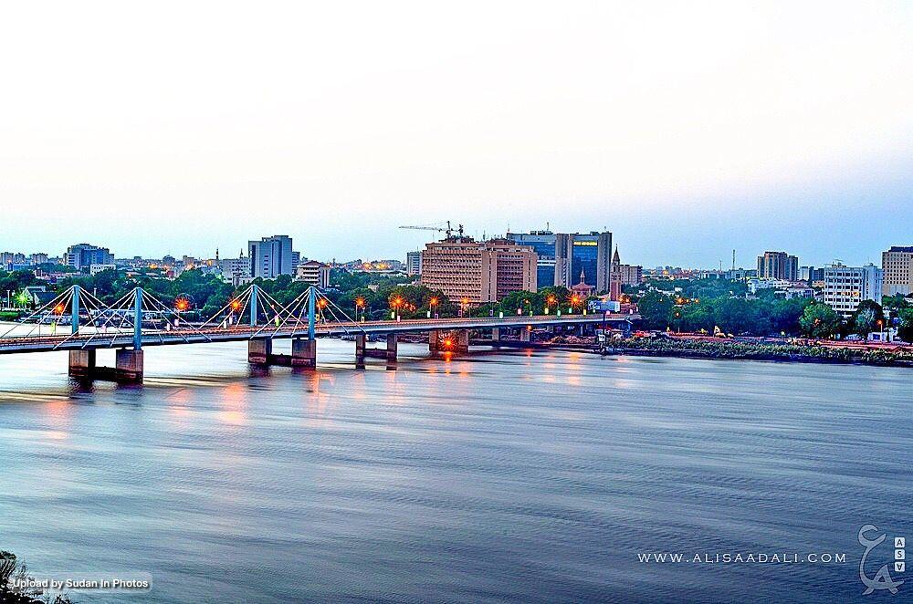 Al Mk Nemer Bridge At Sunset Khartoum كبرى المك نمر عند الغروب الخرطوم السودان By Ali Saad Ali Sudan Mknemer Khar Photo New York Skyline Skyline