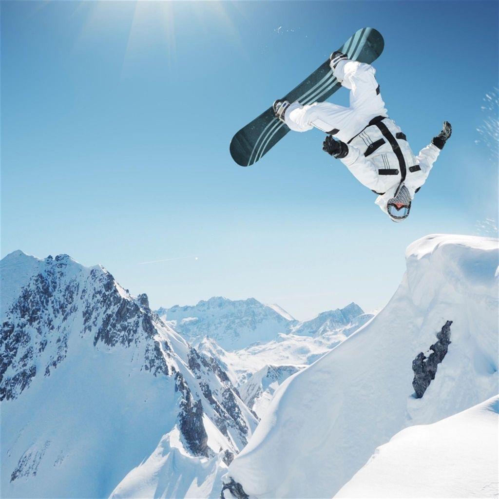 Ski Extreme Sports Ipad Air Wallpapers Snowboard Snowboarding Sports Wallpapers