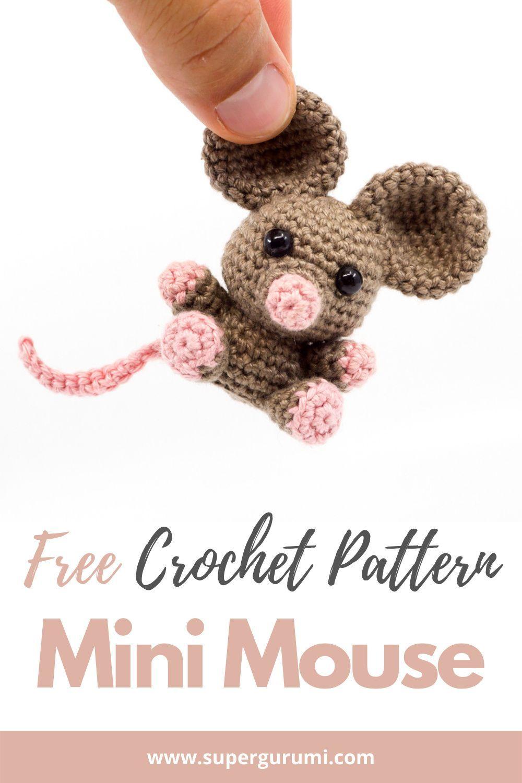 Mini Amigurumi Mouse Crochet Pattern