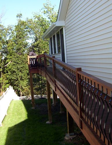 Image result for wheelchair ramp to second story deck | Screen ...