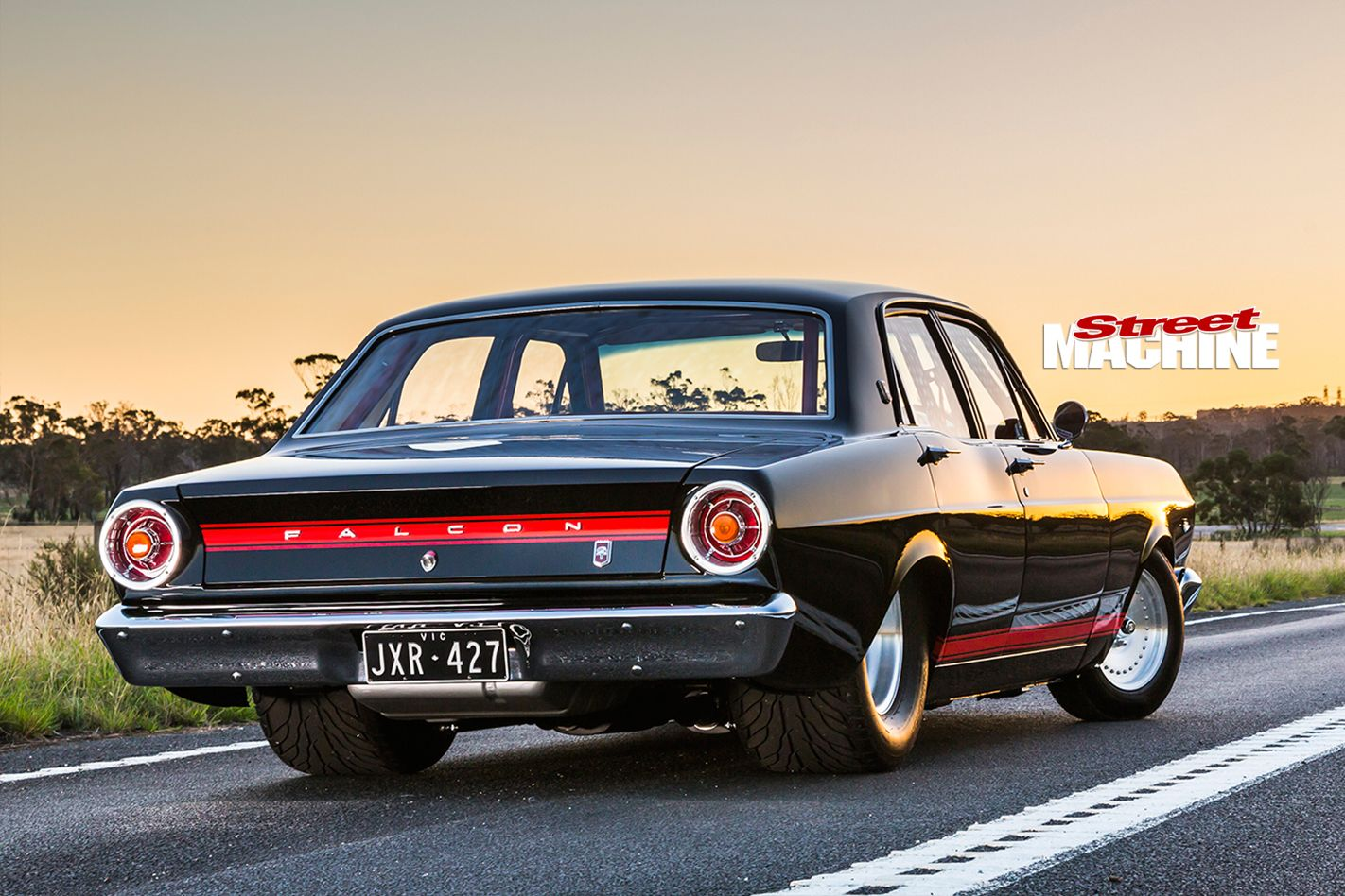 Ford falcon xr still rear