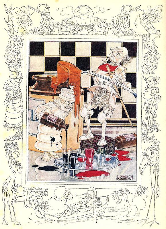 I'm Learning To Share!: Charles Folkard's 'Alice In Wonderland' illustrations, 1921