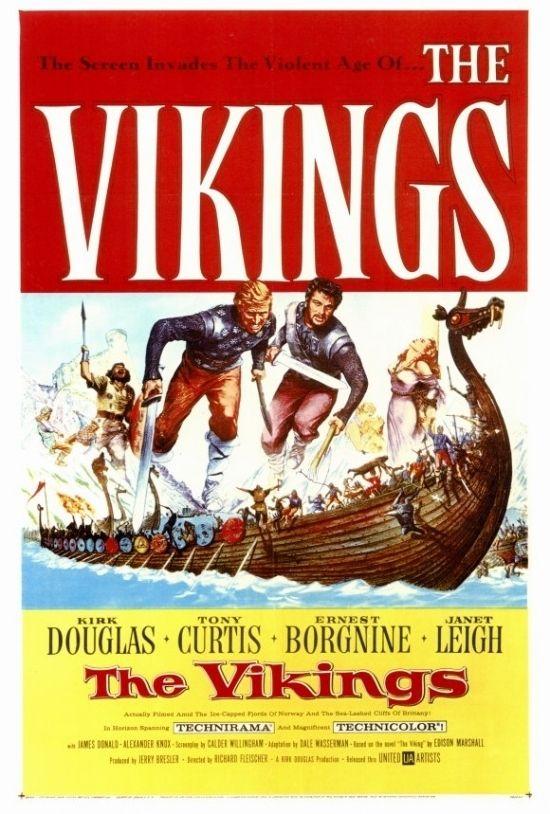 The Vikings Movie Poster Print (27 x 40)