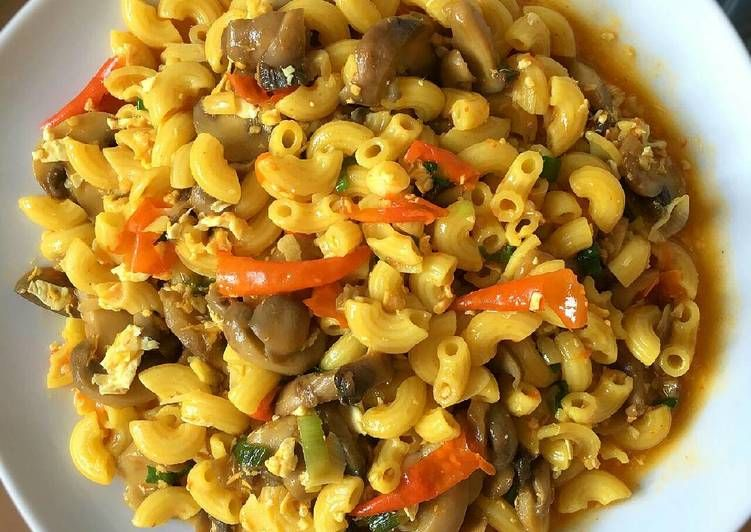 Resep Seblak Makaroni Jamur Oleh Mamari Resep Makaroni Resep Masakan Resep Makanan