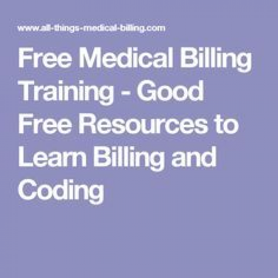 Free Medical Billing Training Good Free Resources To Learn