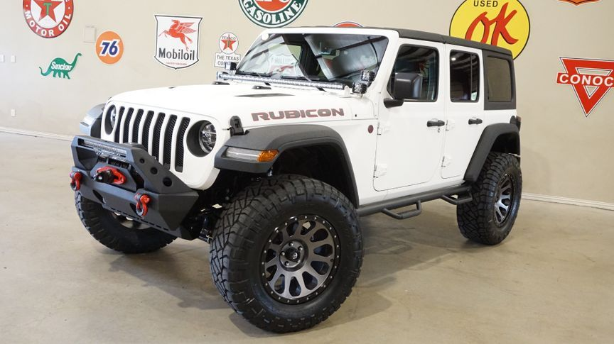 2018 Jeep Wrangler Jl Unlimited Rubicon 4x4 Custom Lifted Nav Htd Lth Led S In Carrollton Tx 75006 Jeep Gladiator Jeep Wrangler Jeep Jl