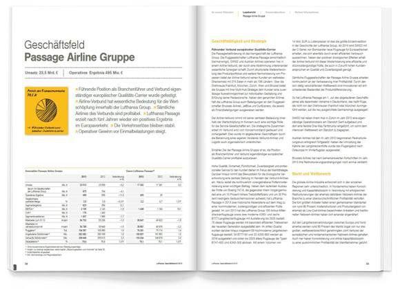 Deutsche Lufthansa AG Annual report 2013