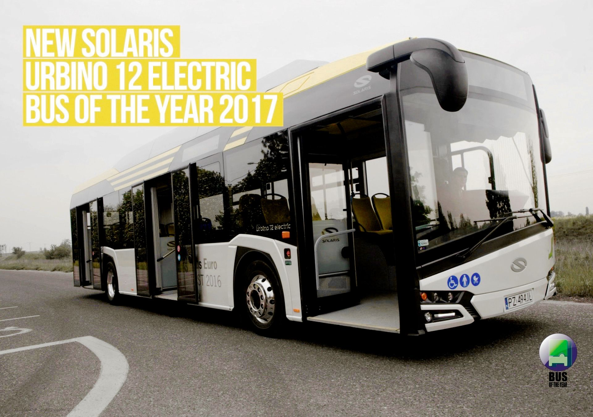 Solaris Urbino 12 Electric Bus Of The Year 2017