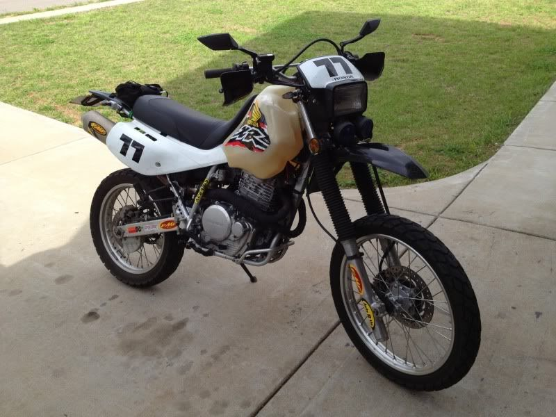 Full Honda XR 650 L Makeover Dirt bikes, Pig