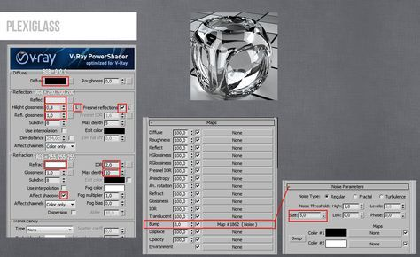Plexiglass | VRay materials in 2019 | 3ds max tutorials, 3ds max
