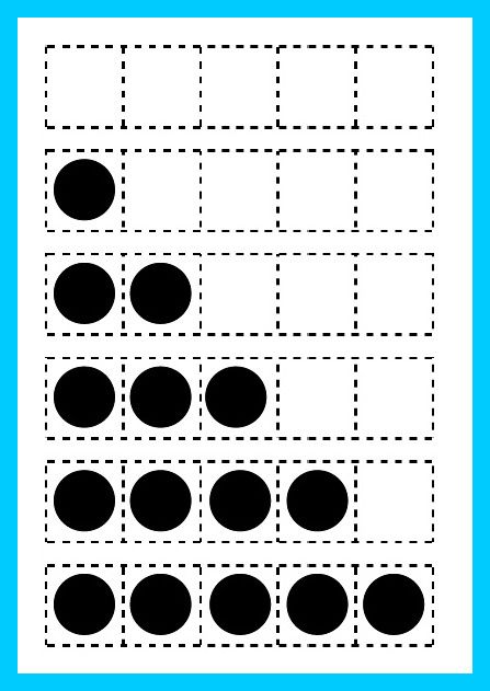 Here\'s a set of printable 5 frames. | Math - Five Frames & Ten ...