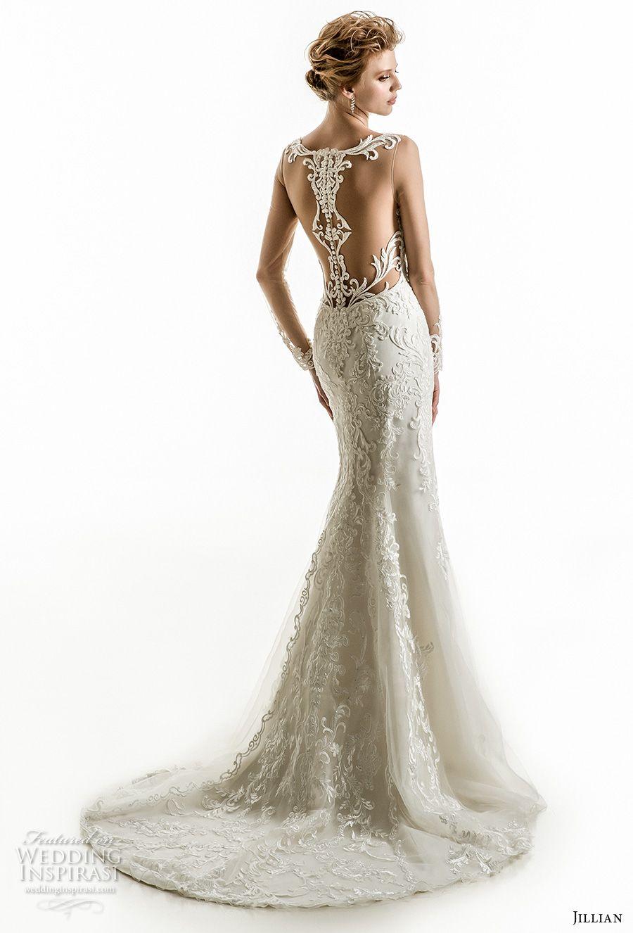 Sheer wedding dress  Jillian  Wedding Dresses  Wedding dress  Pinterest  Wedding