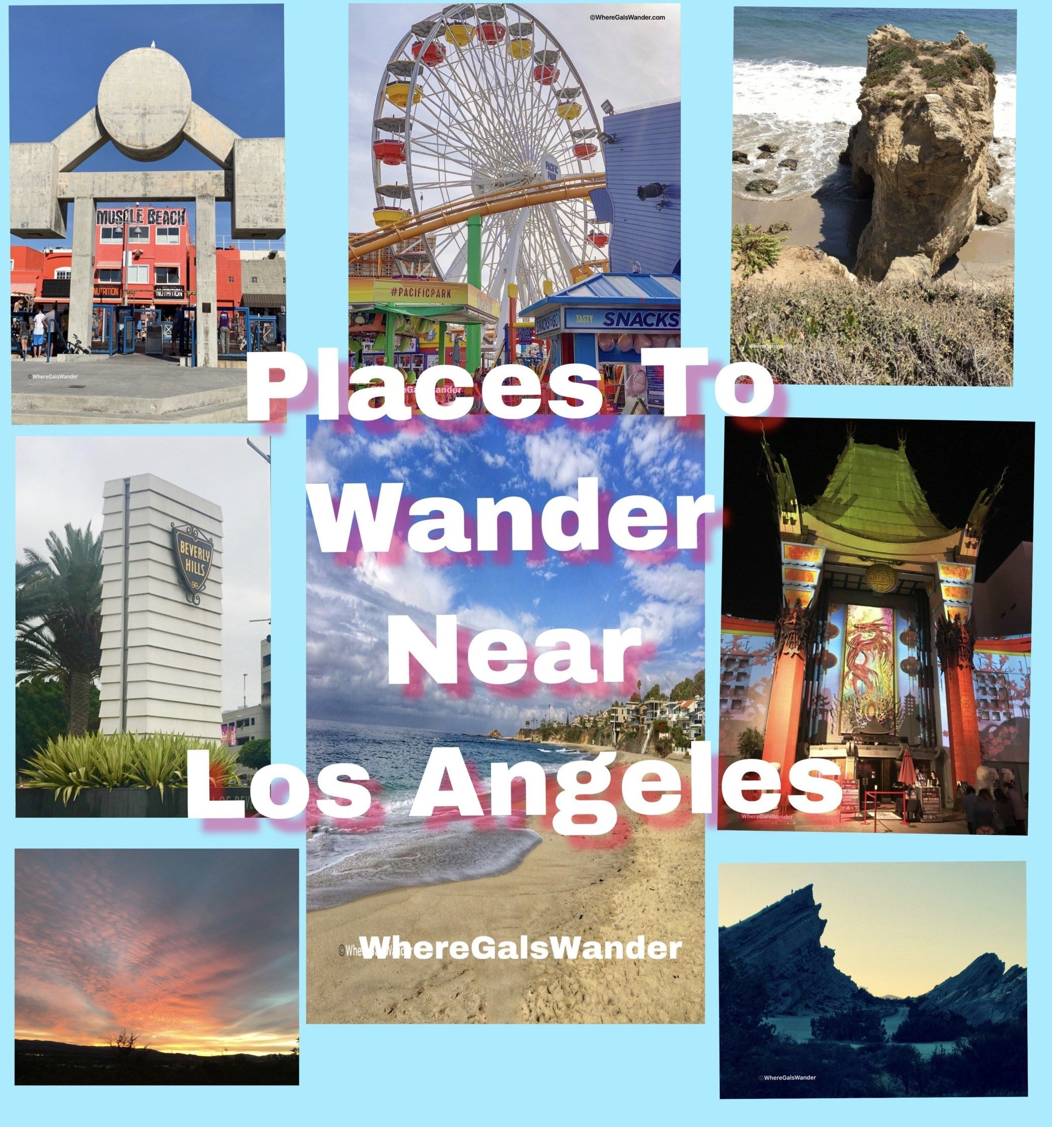 Places To Wander Near Los Angeles California Destinations Best Vacation Spots Trip Planning