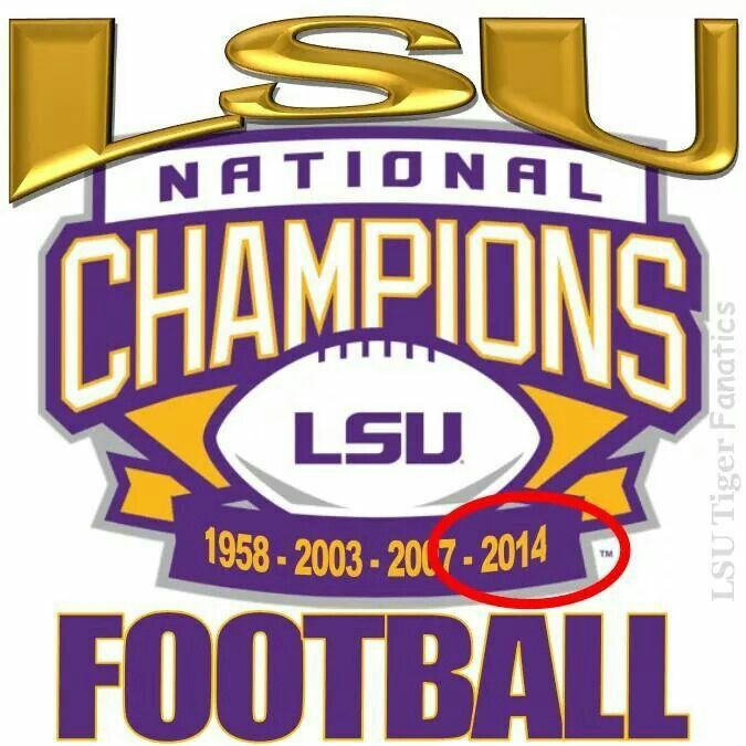 Pin By Carol Fortenberry On Lsu Lsu Lsu Tigers National Champions