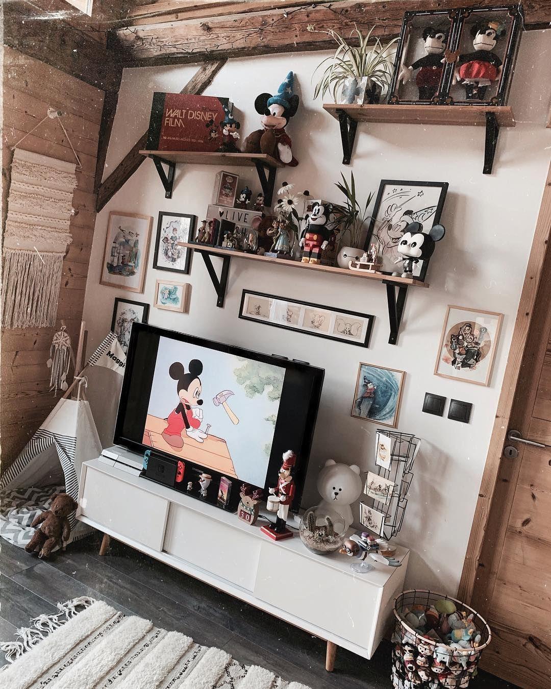Mickey Living Room Disney Home I Disney Decor I Disney