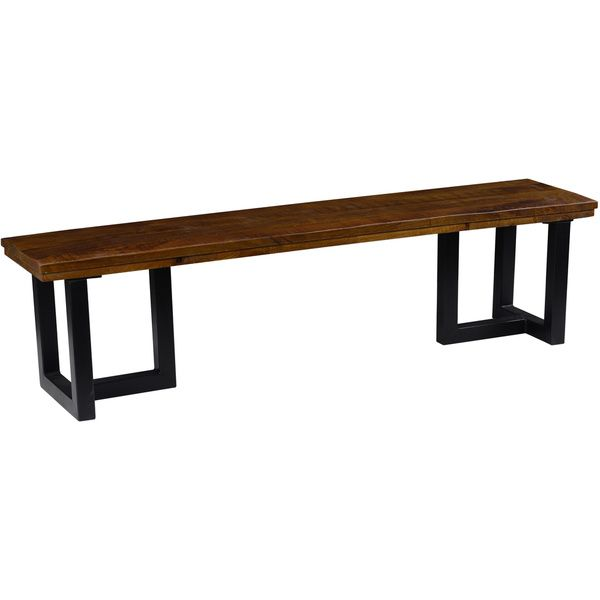 Kosas Collections Kinda 70 Inch Reclaimed Wood Dining Table Bench