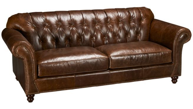 Klaussner Flynn Leather Sofa Sofas For Sale In Ma