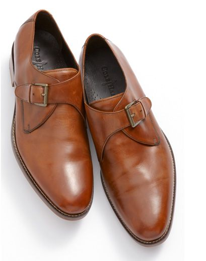 Monk strap shoes, Dress shoes men