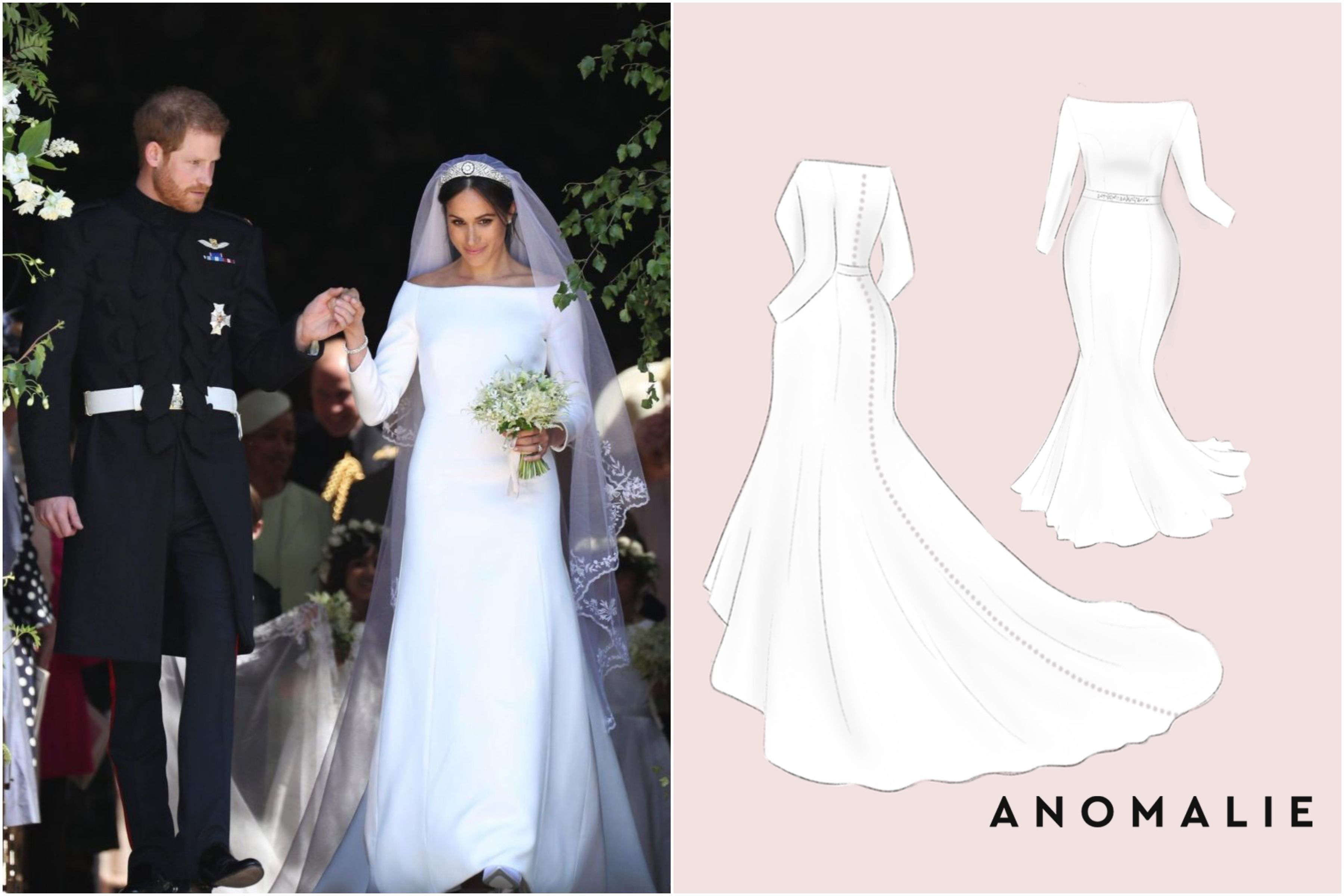 Customize Meghan Markle S Dress For Any Body Type Without