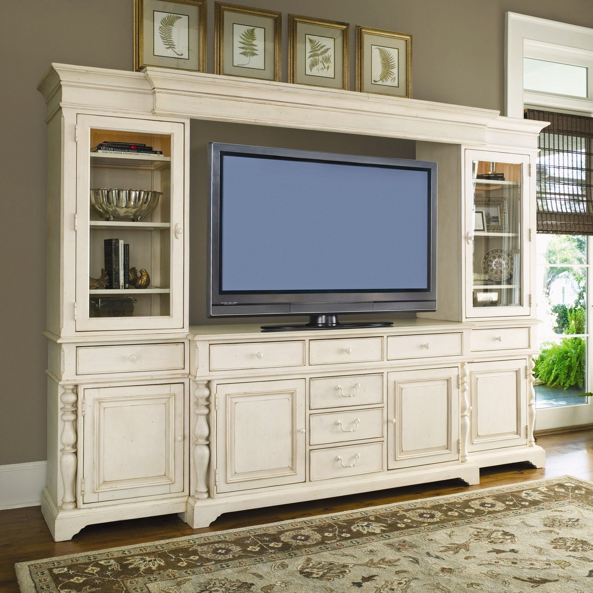 Lapierre cabinetry custom home theater cabinets bathroom cabinets - Paula Deen Home Entertainment Center In Linen Nebraska Furniture Mart