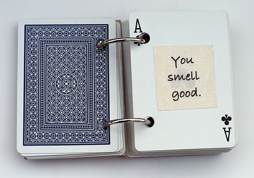 "52 things i ""__"" about you' using a deck of cards"