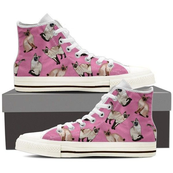 Siamese Cat Pattern Shoes-Clearance