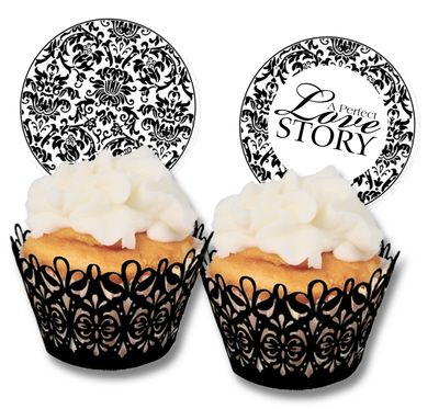 Love These Decorative Cupcake Holders They Are So Chic And
