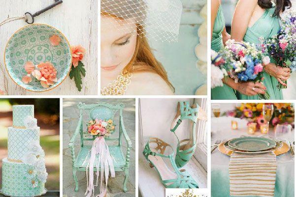 Colores para boda primaveraverano 2015 Decoracin de boda
